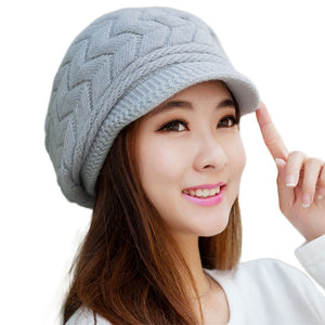 Winter Beanie Knitted Snapback Cap - J20Style - 5