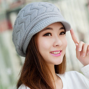 Winter Beanie Knitted Snapback Cap - J20Style - 9