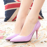 Slip Pointed High Heel Shoes - J20Style - 8