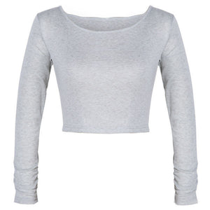 Summer Cropped Long Sleeve Clubwear - J20Style - 4