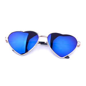 Summer Heart Shaped Vintage Sunglasses - J20Style - 1