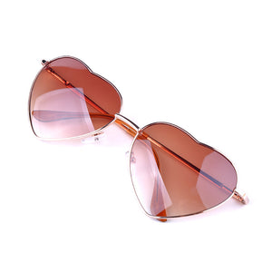 Summer Heart Shaped Vintage Sunglasses - J20Style - 5