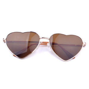 Summer Heart Shaped Vintage Sunglasses - J20Style - 3