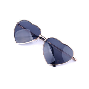 Summer Heart Shaped Vintage Sunglasses - J20Style - 4