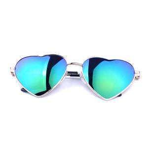 Summer Heart Shaped Vintage Sunglasses - J20Style - 2