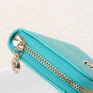Candy Color Bowknot Short Wallet - J20Style - 6