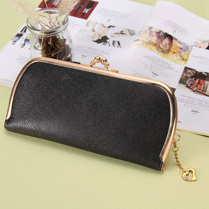 High Quality Leather Hasp Day Clutches - J20Style - 6