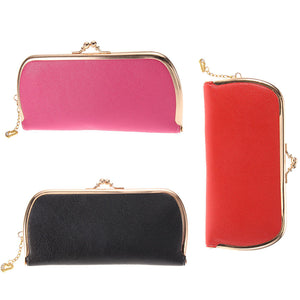 High Quality Leather Hasp Day Clutches - J20Style - 1