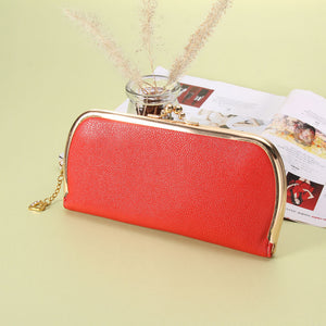 High Quality Leather Hasp Day Clutches - J20Style - 3