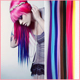 Long Solid Color Hair Extensions - J20Style - 1