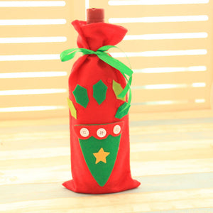 High Quality Wine Bottle Cover for Christmas - J20Style - 3