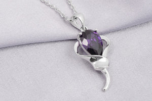 High Quality Silver Crystal Necklace - J20Style - 2
