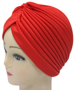 Solid Color Indian Turban Hat - J20Style - 2