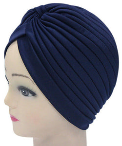 Solid Color Indian Turban Hat - J20Style - 17