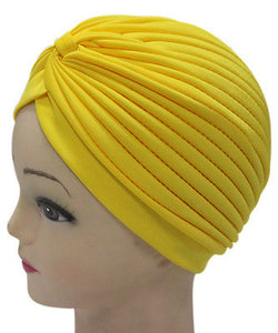 Solid Color Indian Turban Hat - J20Style - 14