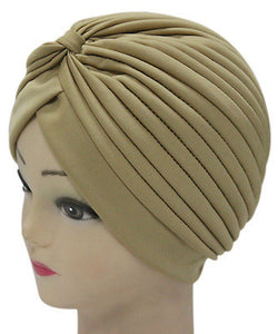 Solid Color Indian Turban Hat - J20Style - 11