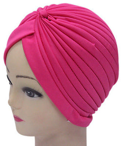 Solid Color Indian Turban Hat - J20Style - 8