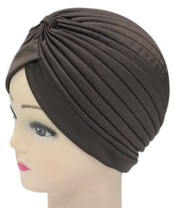 Solid Color Indian Turban Hat - J20Style - 22