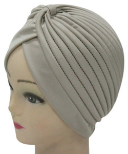 Solid Color Indian Turban Hat - J20Style - 20