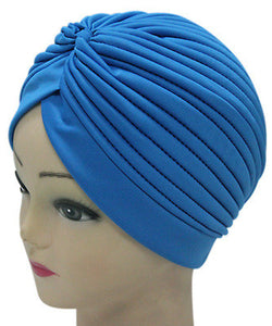 Solid Color Indian Turban Hat - J20Style - 12