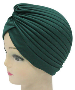 Solid Color Indian Turban Hat - J20Style - 10