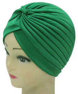 Solid Color Indian Turban Hat - J20Style - 4