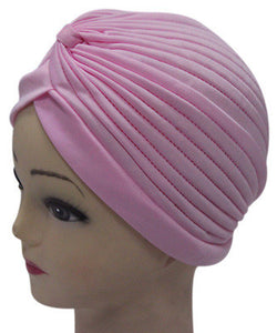 Solid Color Indian Turban Hat - J20Style - 15