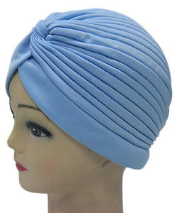 Solid Color Indian Turban Hat - J20Style - 13