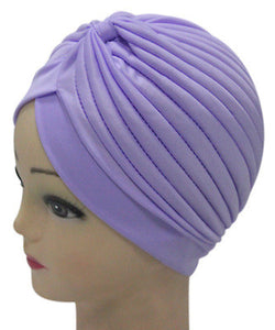 Solid Color Indian Turban Hat - J20Style - 16