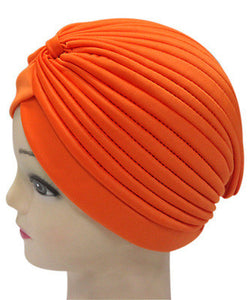 Solid Color Indian Turban Hat - J20Style - 19