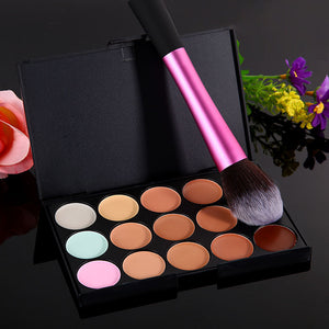 15 Color Concealer and Cosmetic Brush - J20Style - 4