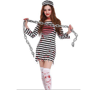 High Quality Bloody Prisoner Costume