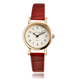 Luxury Rose Gold Small Leather Watch