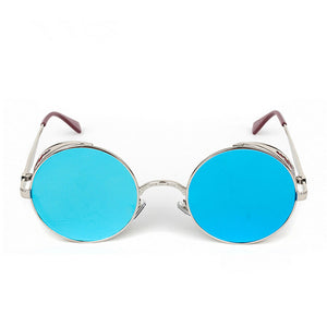 High Quality Steampunk Round Sunglasses - J20Style - 4