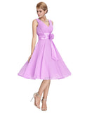 Chiffon Mini Dress For Brides - J20Style - 3