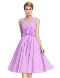 Chiffon Mini Dress For Brides - J20Style - 1