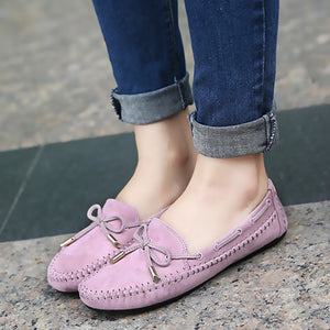 Casual Bowtie Sweet Candy Colors Women Flat