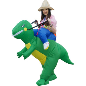 Halloween Inflatable Dinosaur Costume - J20Style - 1