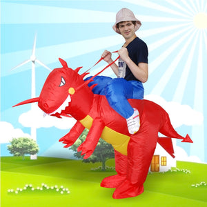 Halloween Inflatable Dinosaur Costume - J20Style - 2