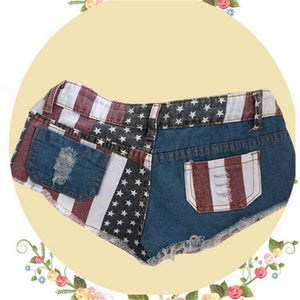 Casual American Flag Printed Shorts - J20Style - 5