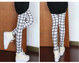 High Elastic Vintage Plaid Leggings - J20Style - 3