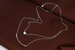 Pure 925 Sterling Silver Pendant Necklace
