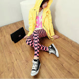 Korean Style Milk Grid Pencil Pants - J20Style - 6