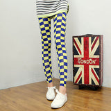 Korean Style Milk Grid Pencil Pants - J20Style - 2