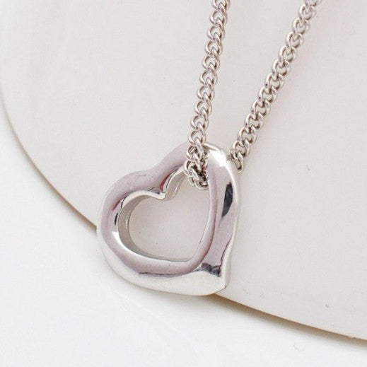 Alloy Heart Necklace Pendant - J20Style