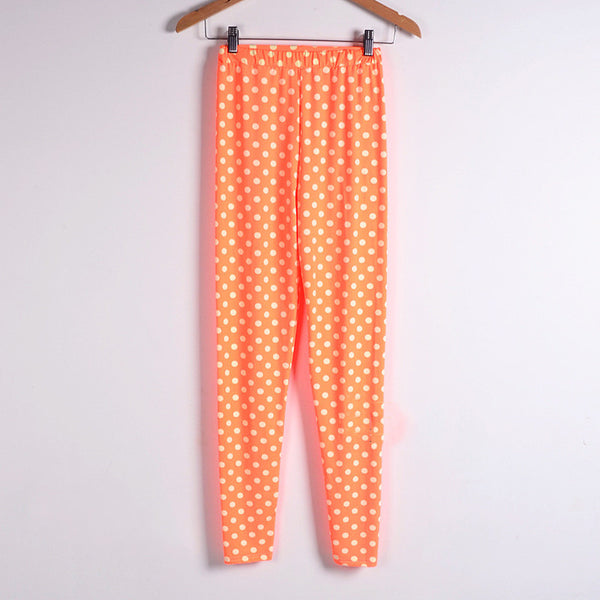 Casual Wave Printing Pencil Pants - J20Style - 1