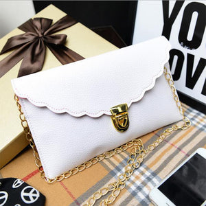 Long Metal Chain Shoulder Bag - J20Style - 1