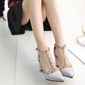 High Quality Buckle High Heels - J20Style - 6