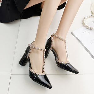 High Quality Buckle High Heels - J20Style - 5