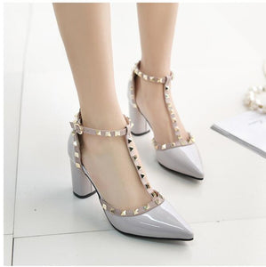 High Quality Buckle High Heels - J20Style - 1